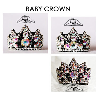 BABY CROWN bows