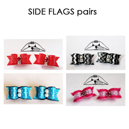 SIDE FLAGS pairs